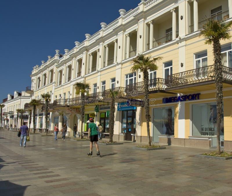 Download Yalta, Krim redaktionelles stockfotografie. Bild von schwarzes - 27735777