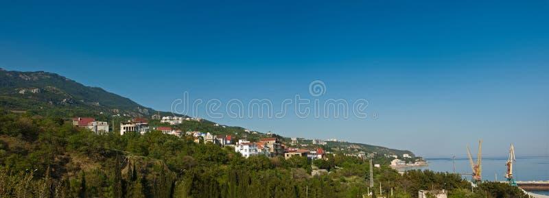 Yalta, Krim, Ukraine stockbild