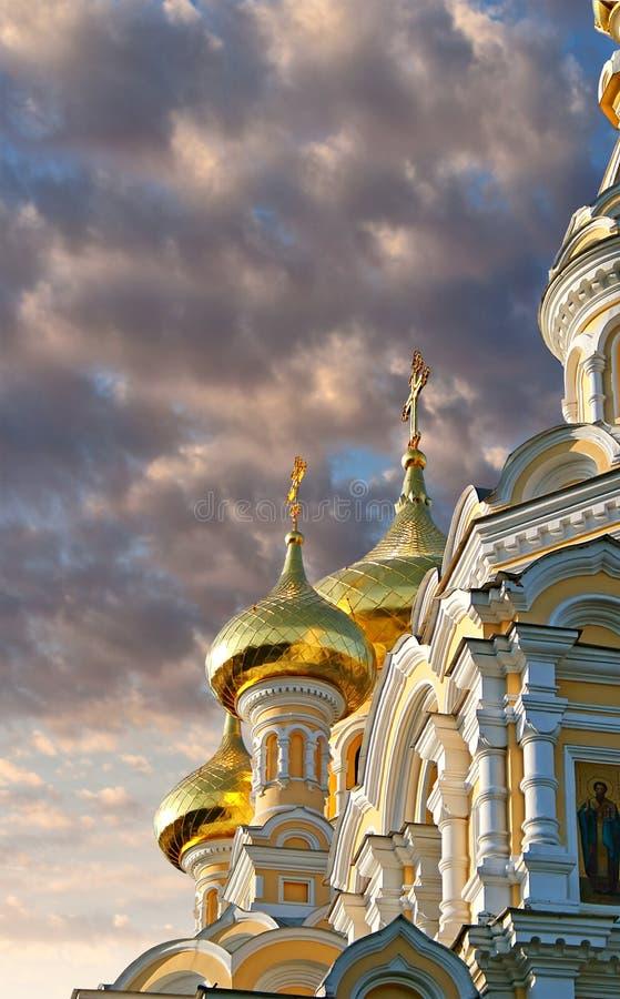 Yalta Orthodox Cathedral Royalty Free Stock Image