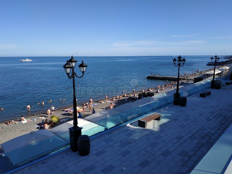 Yalta, península crimea fotografía de archivo