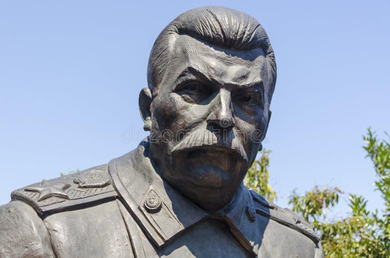 Yalta RYSSLAND - Juli 3: Öppning av monumentet in royaltyfria foton