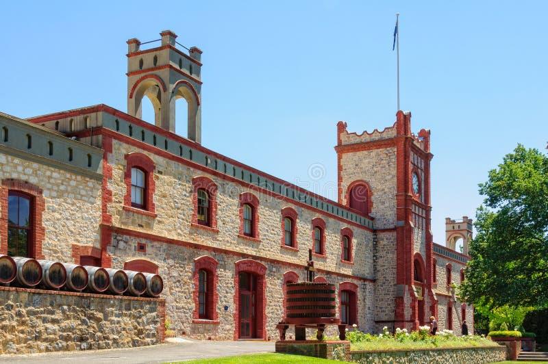 Yalumba wytwórnia win - Barossa dolina zdjęcie royalty free