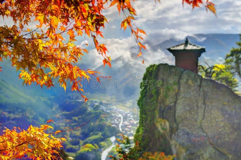 Mountain Temple stock photo