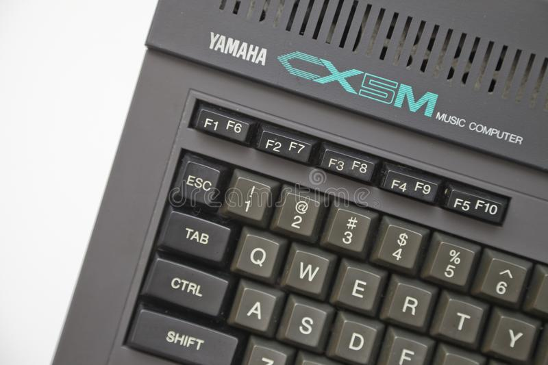 Yamaha CX5M Music Computer royalty free stock image