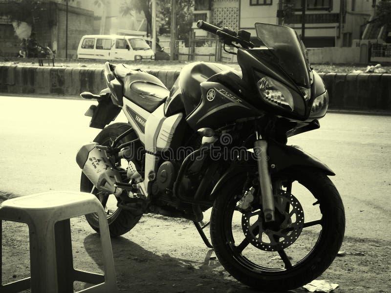 Yamaha-Fiets stock foto