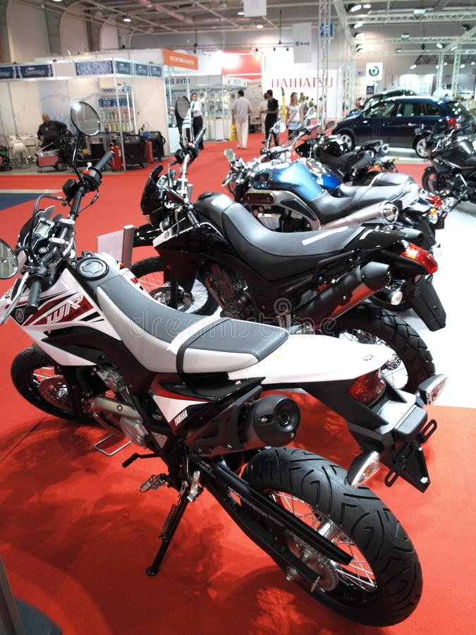 yamaha motobikes стоковые фотографии rf