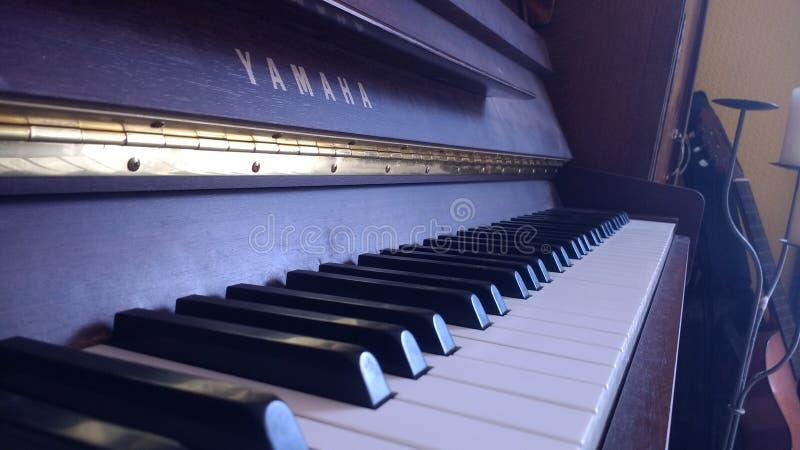 Yamaha piano royalty free stock photo