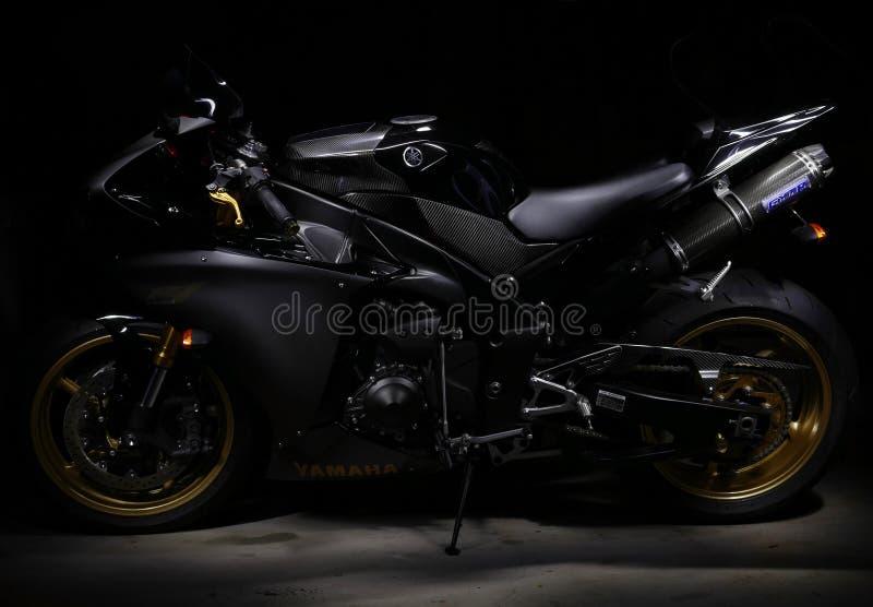 Yamaha r1 photos libres de droits