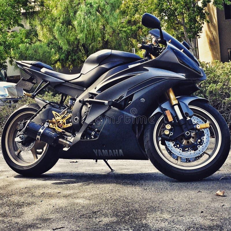 Yamaha 2014 r6 стоковое фото rf