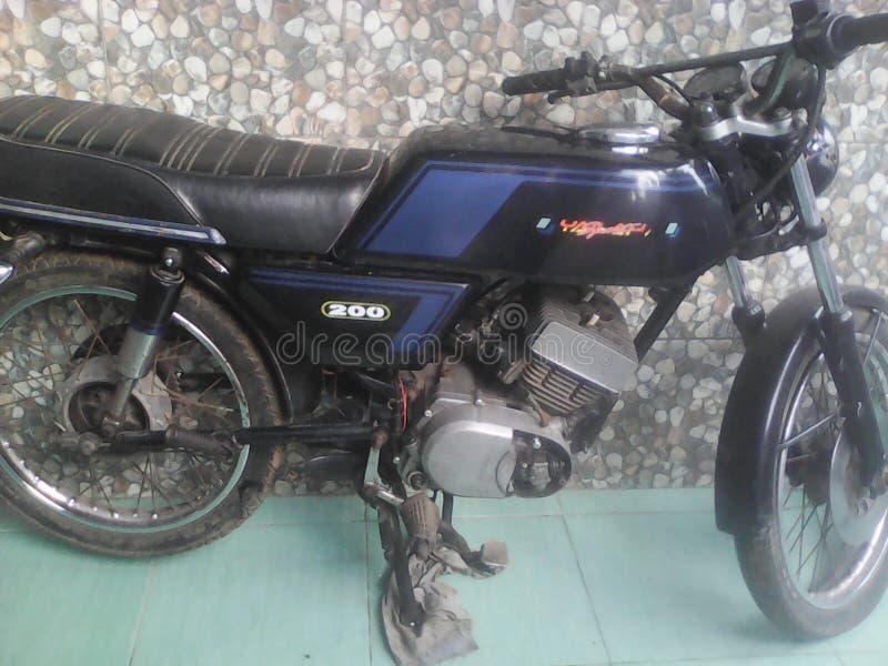 Yamaha RX kopplar samman 125 royaltyfri foto