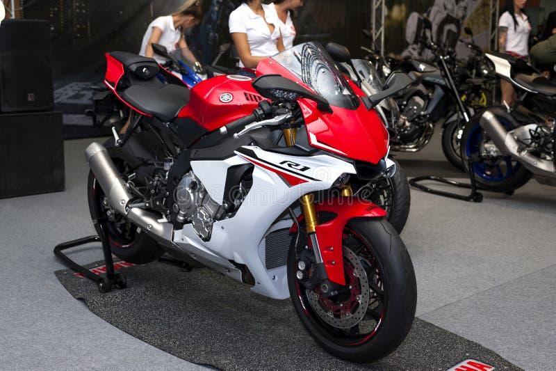 Yamaha YZF-R1 2017 imagen de archivo libre de regalías