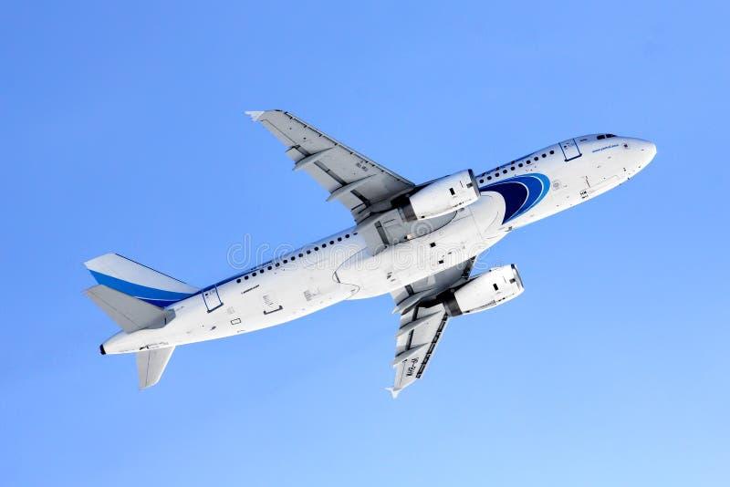Yamal flygbolagflygbuss A320 royaltyfri bild