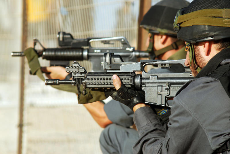 Yamam - Israel Special Central Unit royalty free stock images