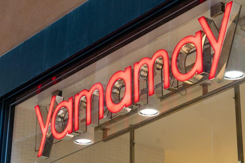 Yamamay store stock image