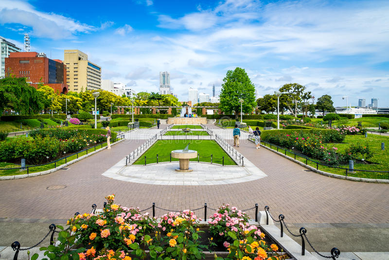 Yamashita park zdjęcie royalty free
