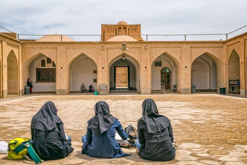 Yame moské i Yazd royaltyfri foto