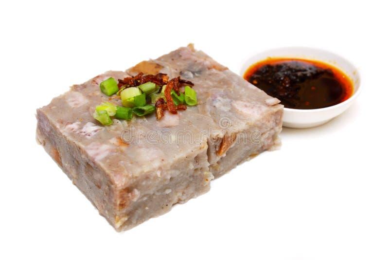 Yamswurzel-Kuchen lizenzfreies stockfoto