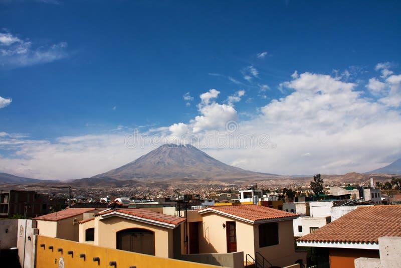 Yanahuara Viewpoint arkivbilder