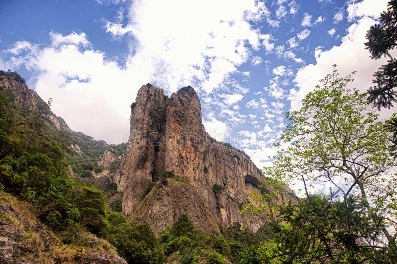 Download Yandangshan-Landschaft China Stockfoto - Bild von felsig, landschaft: 96928630