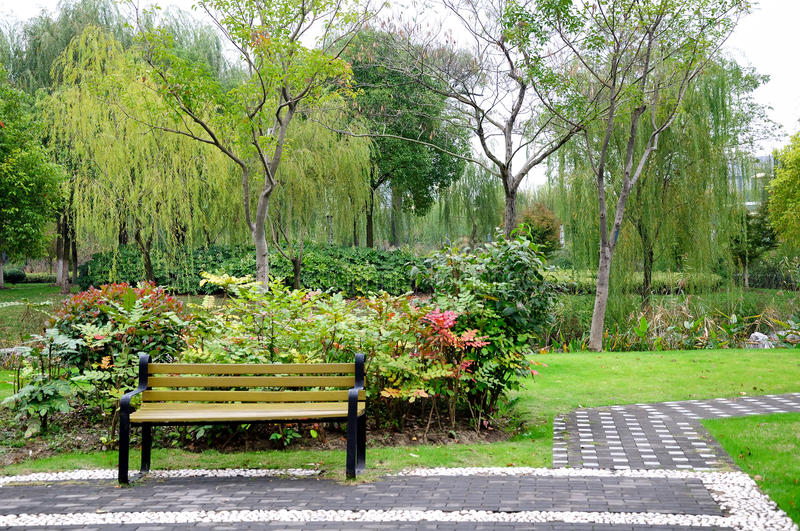 Yandu park scenery royalty free stock image