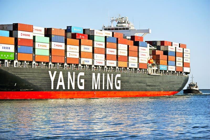 Download Yang Ming Morskiego Transportu Naczynie Zdjęcie Editorial - Obraz złożonej z usługa, radar: 53779656