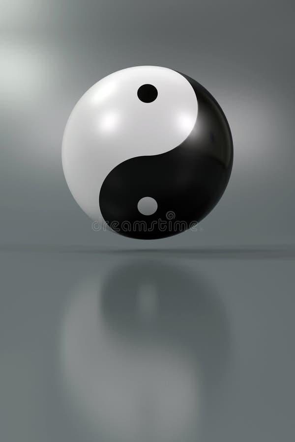 yang yin ilustracja wektor