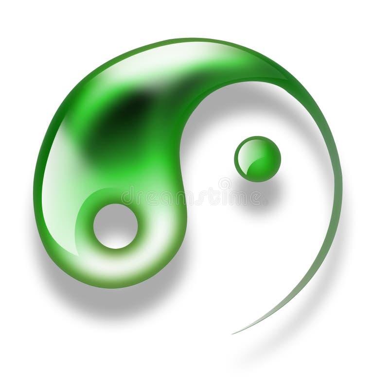 Download Yang yin stock illustration. Image of balance, lifestyles - 17854267