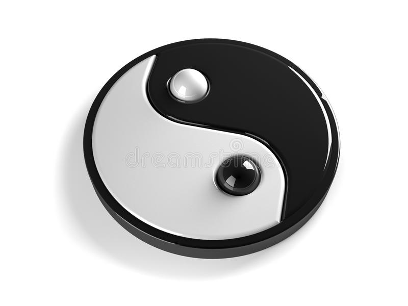 yang ying διανυσματική απεικόνιση
