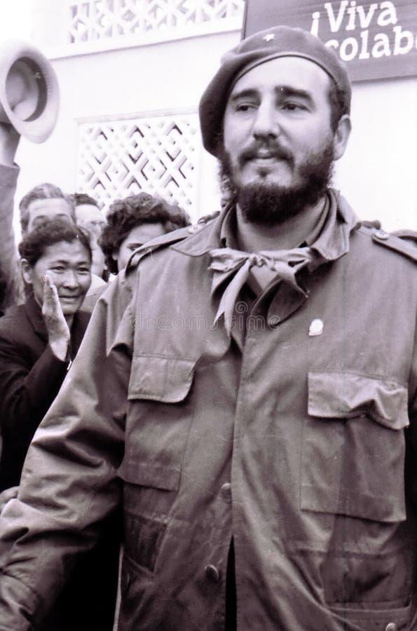 Yangiyer Fidel Castro Maj 1963 obrazy royalty free