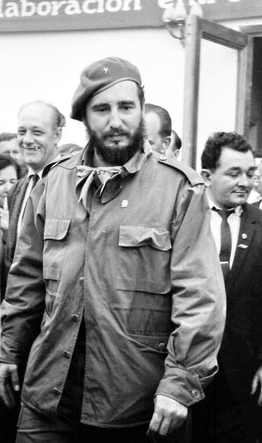Yangiyer Fidel Castro Ruz 1963 fotos de archivo