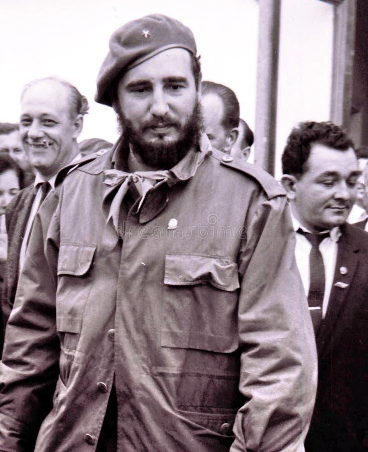 Yangiyer the Fidel Castro Ruz May 1963 stock photo