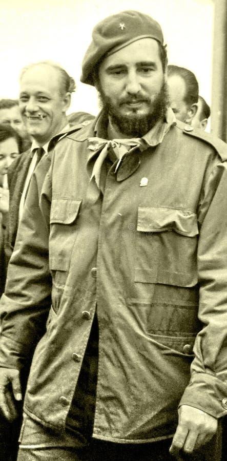 Yangiyer Fidel entre gente mayo de 1963 imagenes de archivo