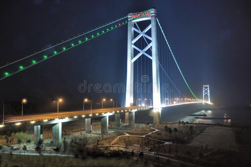 Yangluo Bridge stock photography