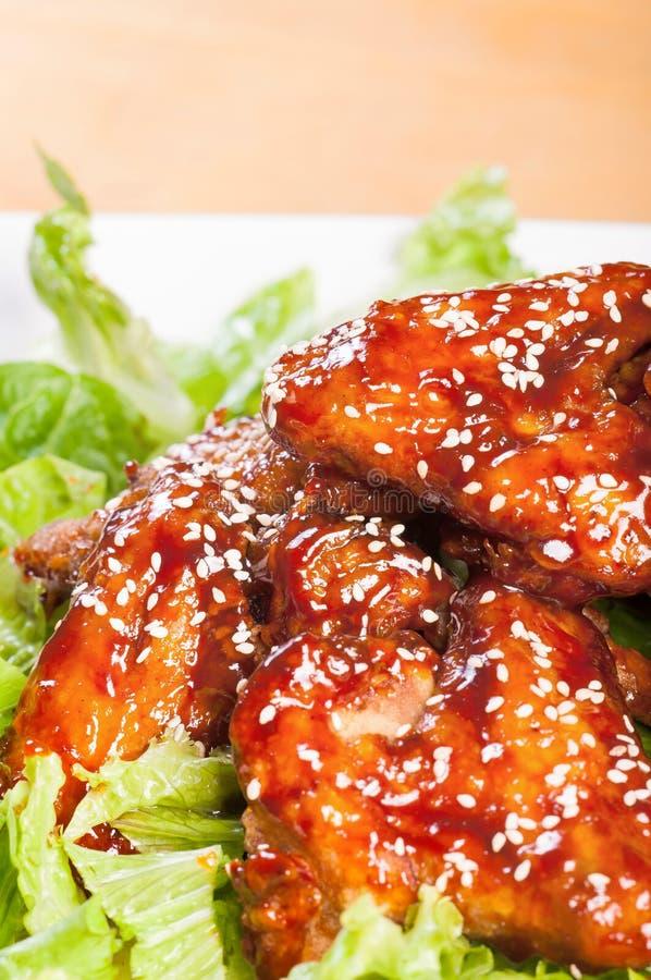 Download Yangnam chicken stock photo. Image of dish, cooking, restaurant - 34026448