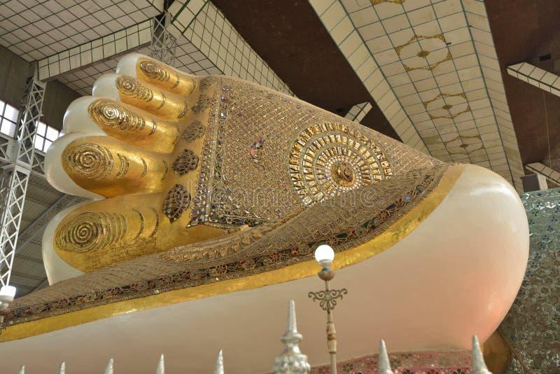 Yangon Bago Buddha obraz stock