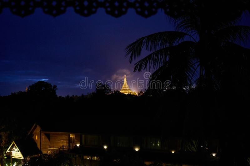 Yangon myanmar imagens de stock royalty free