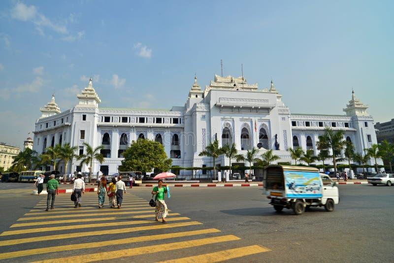 Yangon, Myanmar imagens de stock royalty free