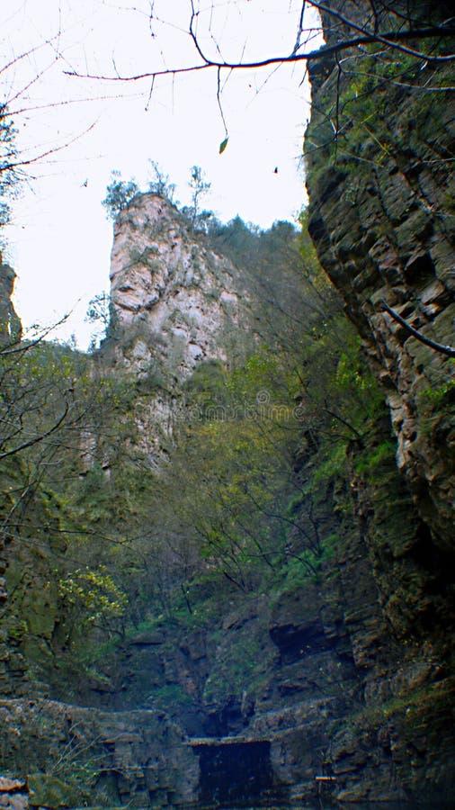 Yangshao Grand Canyon royalty-vrije stock foto's