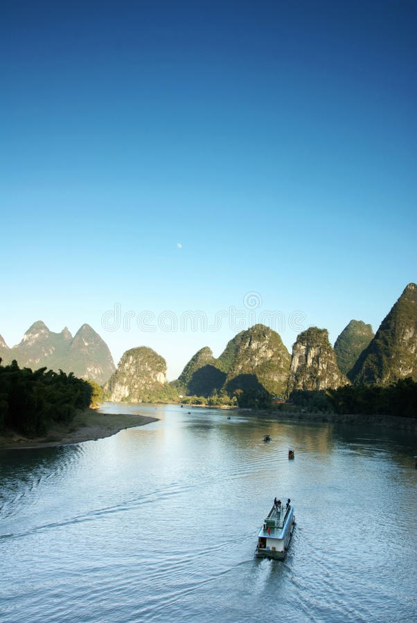 yangshuo ποταμών της Κίνας lijiang στοκ φωτογραφίες με δικαίωμα ελεύθερης χρήσης