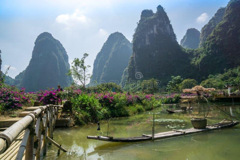 Yangshuo China fotografia de stock