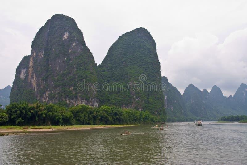 yangshuo för guilin liflod royaltyfria foton