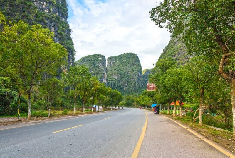 Yangshuo galerie de dix milles photographie stock libre de droits