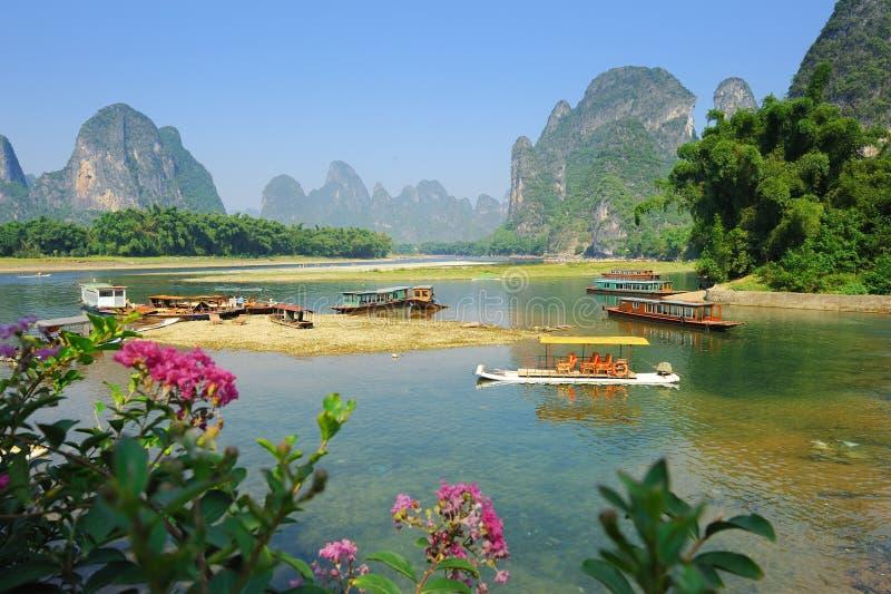 Yangshuo Guilin imagens de stock