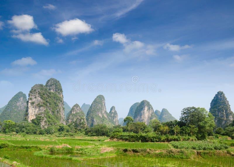 Yangshuo Guilin, Chine photos stock