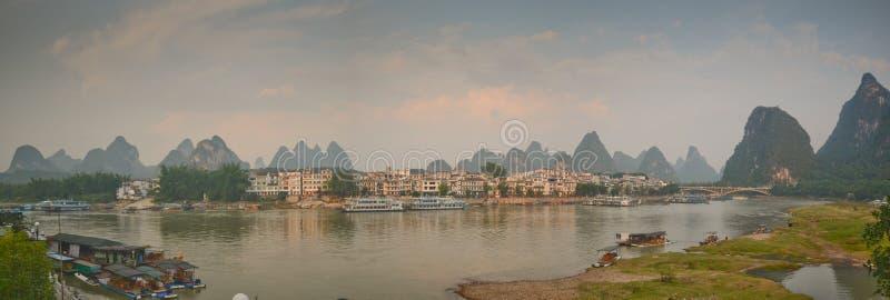 Yangshuo sceneria zdjęcia stock