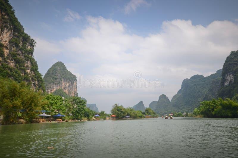 Yangshuo, sud de la Chine photographie stock libre de droits