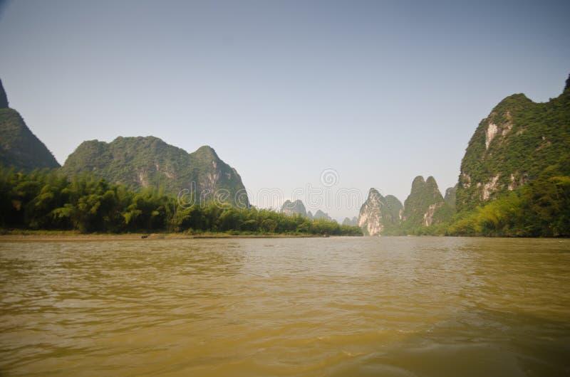 Yangshuo, sud de la Chine image libre de droits
