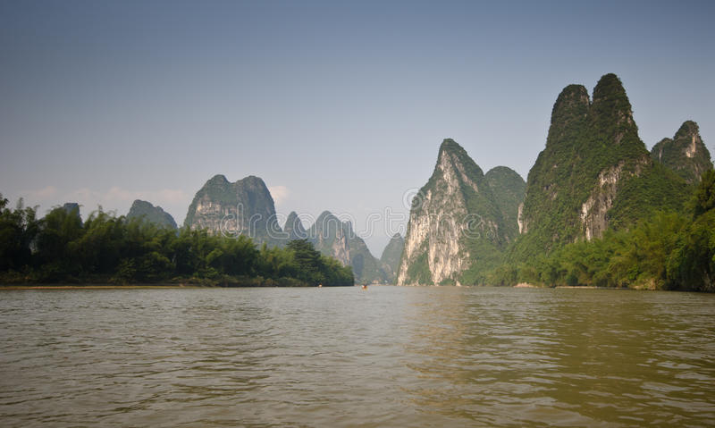 Yangshuo, sud de la Chine photos stock