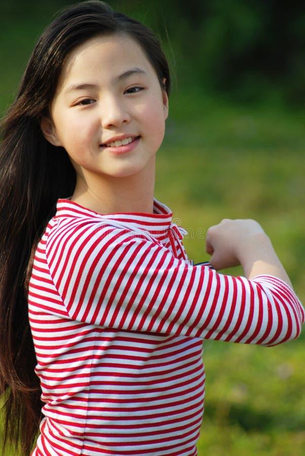 Yangxi An Beautiful girl From China. 。She name is yangxi royalty free stock image