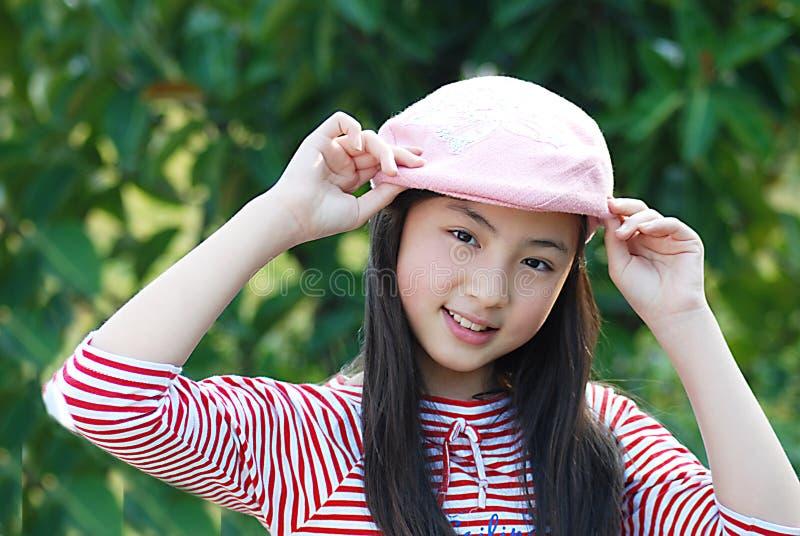 Yangxi um girlãFrom bonito China fotos de stock
